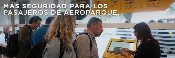 Más seguridad para los pasajeros de aeroparque.