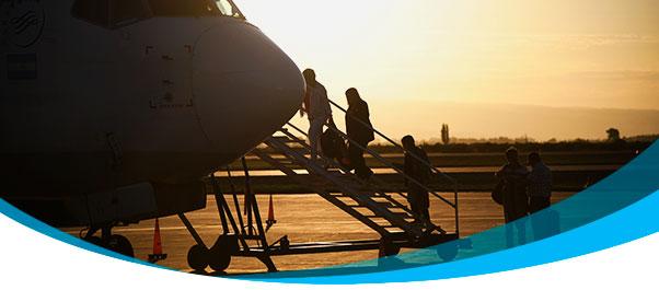 En Marzo volaron 1,33 millones de personas por el país.