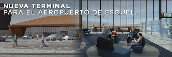 Nueva terminal para el aeropuerto de Esquel.