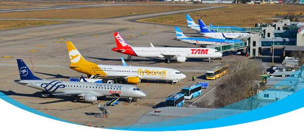1.2 millones de pasajeros volaron en Argentina en abril.